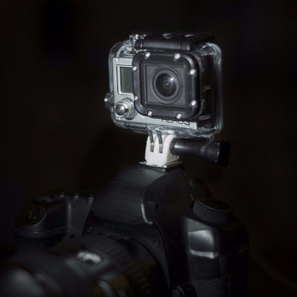 Go-Pro Hot-Shoe Mount: Tough Guy