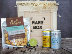 Gin And Tonic Popcorn gift in a box