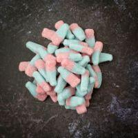 fizzy blue and pink bubblegum flavoured sweets pick and mix online