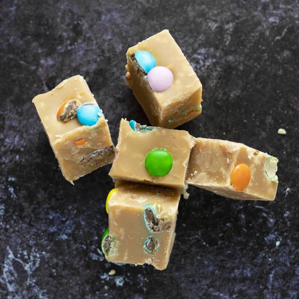 Smarties Vanilla Fudge