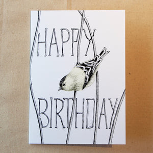 'Happy Birthday' Little Bird Card