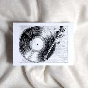 Turntable Card