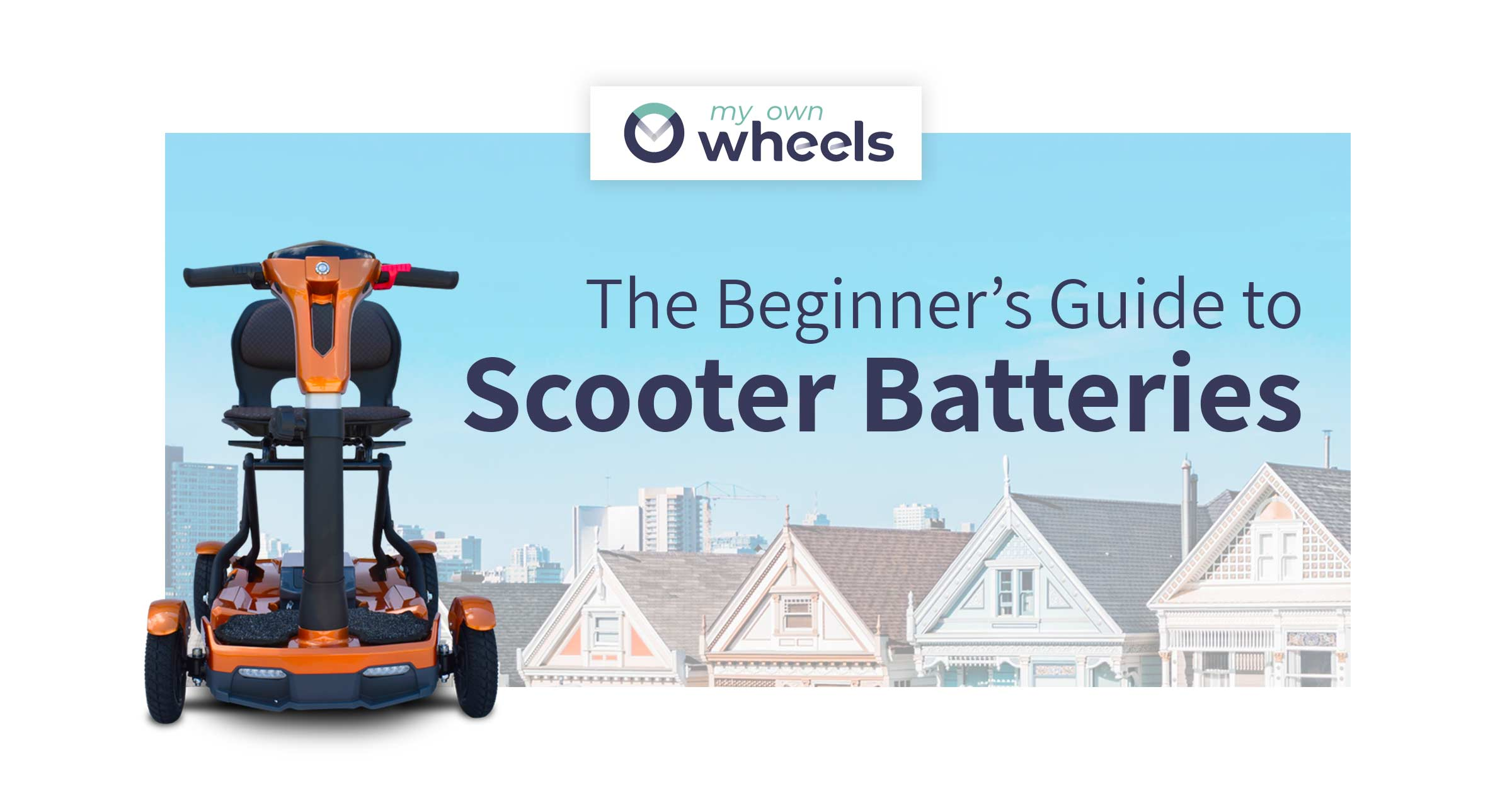 Understanding Mobility Scooter Batteries: The Beginner's Guide