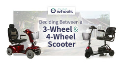 5 Key Differences Between Three-Wheel and Four-Wheel Mobility Scooters
