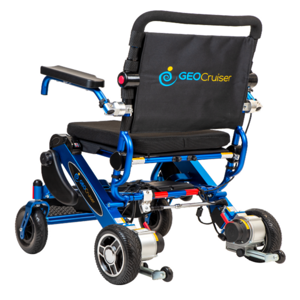 Geo Cruiser by Pathway Mobility - Geo DX Lightweight Folding Power chair-Wheelchair-My Own Wheels