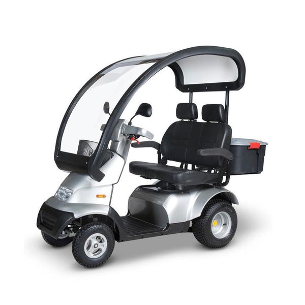 Afiscooter S4 Breeze 4 Wheel Scooter Dual Seat & Canopy