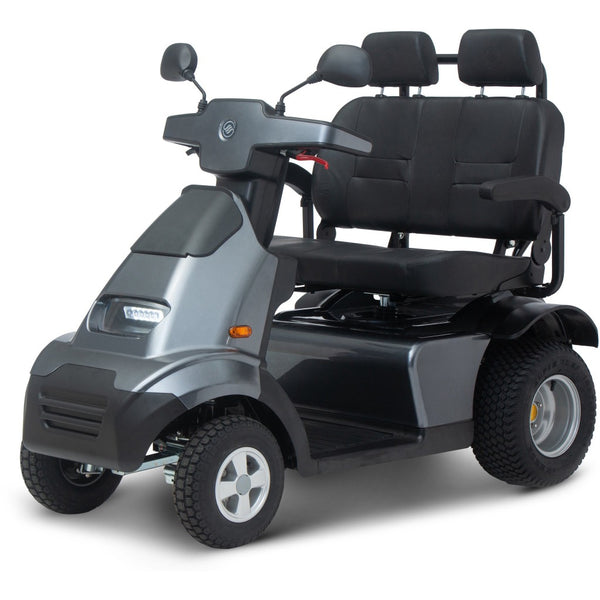 Afiscooter S4 Breeze 4 Wheel Scooter Dual Seat & All Terrain Tires-My Own Wheels
