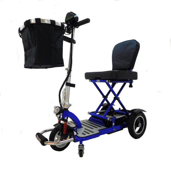 Enhance Mobility Triaxe Cruze-Mobility Scooter-Enhance Mobility-Blue-My Own Wheels