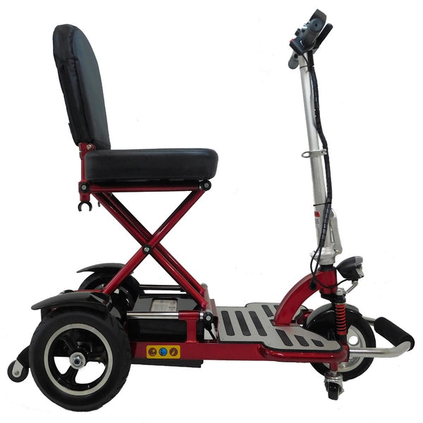 Enhance Mobility Triaxe Cruze-Mobility Scooter-Enhance Mobility-Red-My Own Wheels