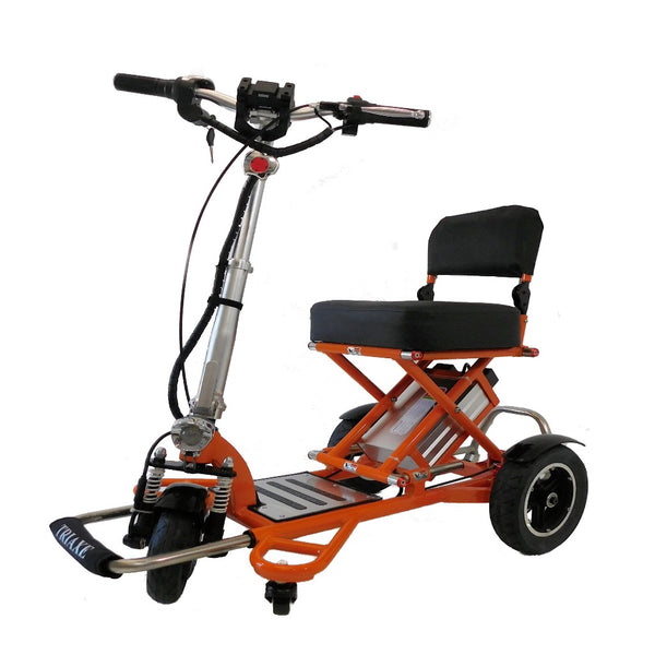 Enhance Mobility Triaxe Sport-Mobility Scooter-Enhance Mobility-Orange-My Own Wheels