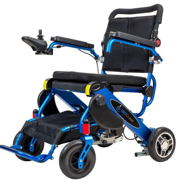 Geo Cruiser by Pathway Mobility - Geo LX Lightweight Folding Power chair-Wheelchair-My Own Wheels