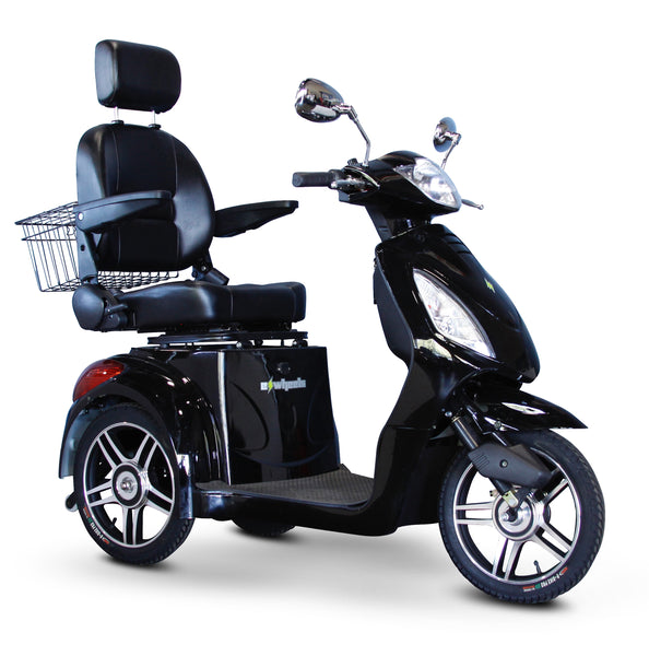 eWheels EW-36 Elite 48v 500w 3-Wheel-Mobility Scooter-eWheels-Black-My Own Wheels