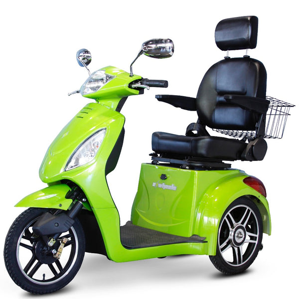 eWheels EW-36 Elite 48v 500w 3-Wheel-Mobility Scooter-eWheels-Green-My Own Wheels