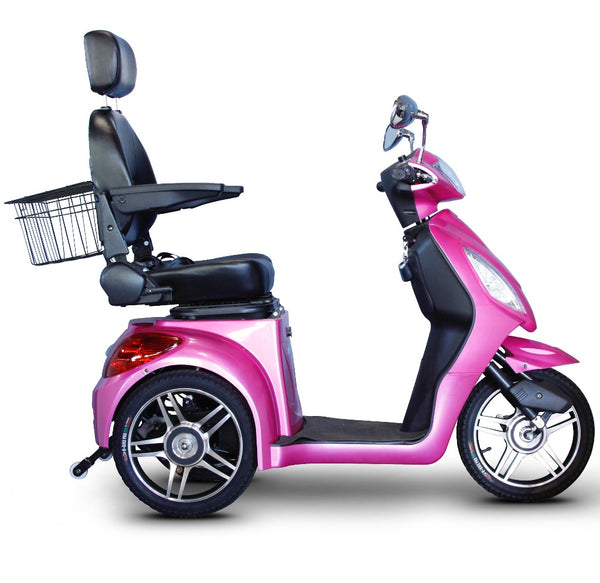 eWheels EW-36 Elite 48v 500w 3-Wheel-Mobility Scooter-eWheels-Magenta-My Own Wheels