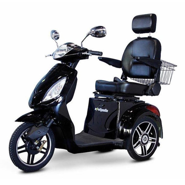 eWheels EW-36 48v 500w 3-Wheel-Mobility Scooter-eWheels-Black-My Own Wheels