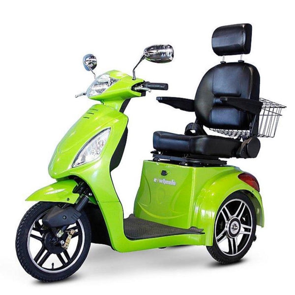 eWheels EW-36 48v 500w 3-Wheel-Mobility Scooter-eWheels-Green-My Own Wheels