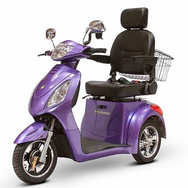 eWheels EW-36 48v 500w 3-Wheel-Mobility Scooter-eWheels-Purple-My Own Wheels