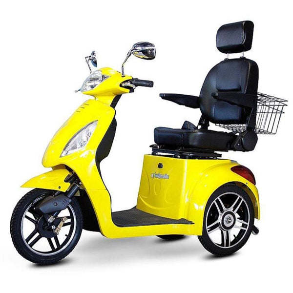 eWheels EW-36 48v 500w 3-Wheel-Mobility Scooter-eWheels-Yellow-My Own Wheels