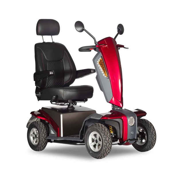 VITA Express Scooter - Extended Range Batteries-Mobility Scooter-EV Rider-Metallic Red-My Own Wheels