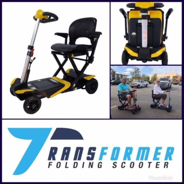 Enhance Mobility Transformer Folding Scooter
