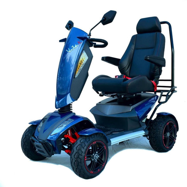 Vita Monster 4 Wheel 900w-Mobility Scooter-EV Rider-Sapphire Blue-My Own Wheels