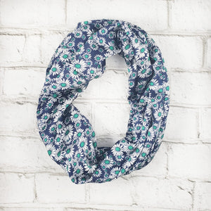 Infinity Scarf - Daisies