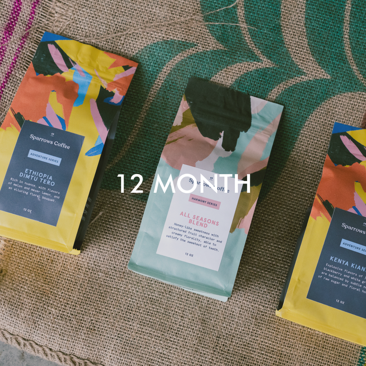 Light & Bright - 12 Month Subscription - The Sparrows