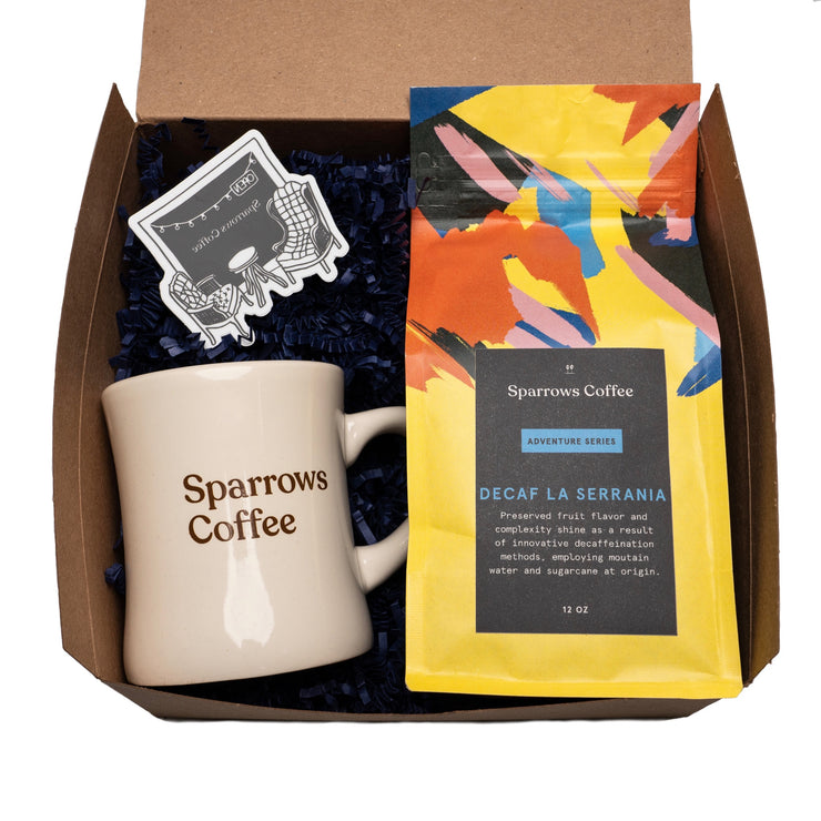 Decaf Gift Box - The Sparrows