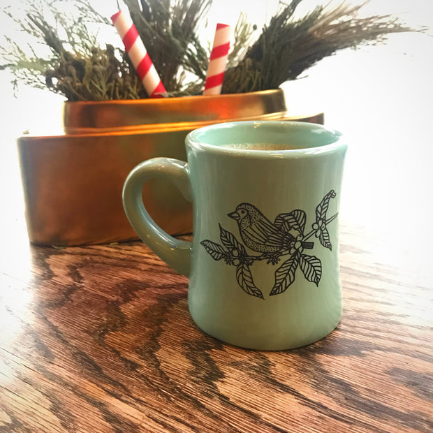 DINER MUG - The Sparrows