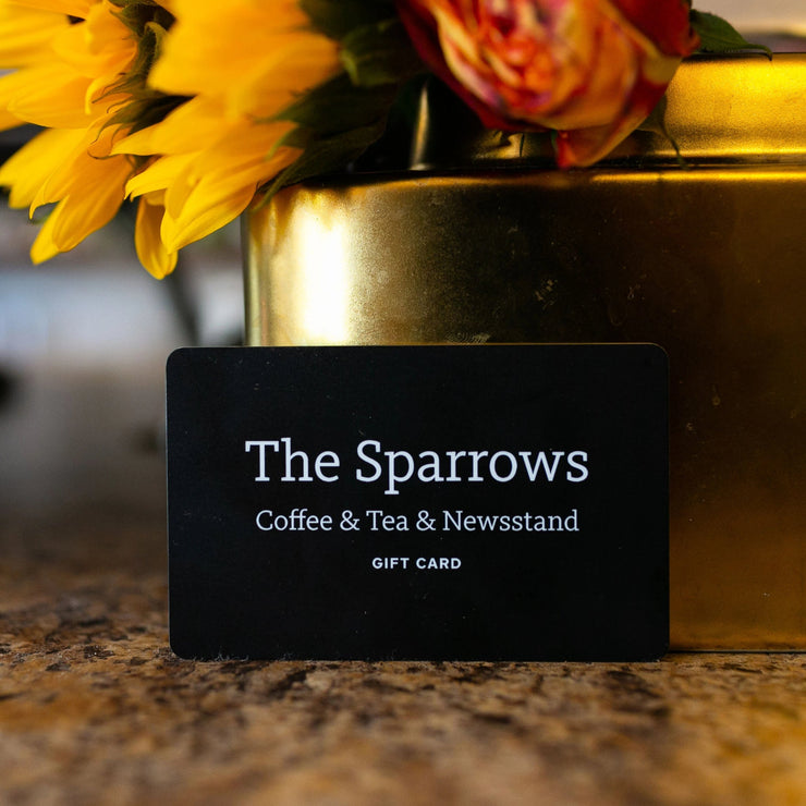 CAFE ONLY GIFT CARD - The Sparrows