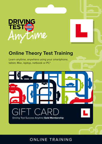Gift Card - Online Theory Test Training