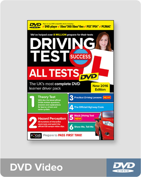 Driving Test Success All Tests Pc Dvd Driving Test