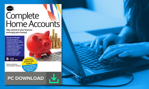 Select: Complete Home Accounts (PC Download) - Groupon Redemption