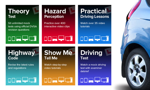 The complete 6-in-1 online learner driver pack - Groupon Redemption