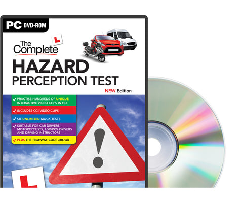 PC DVD-ROM - The Complete Hazard Perception Test