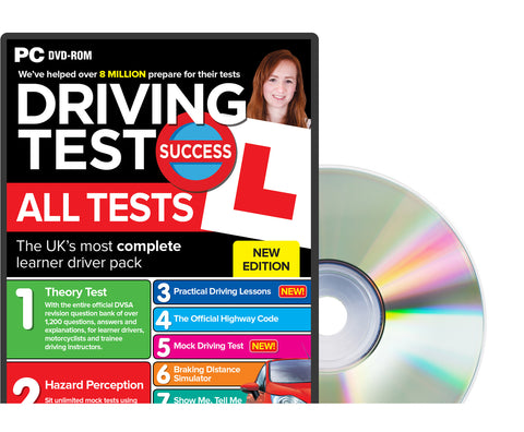 Driving Test Success All Tests - PC DVD-ROM