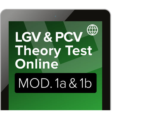 Theory Test - Module 1a & 1b Revision for LGV & PCV - Online