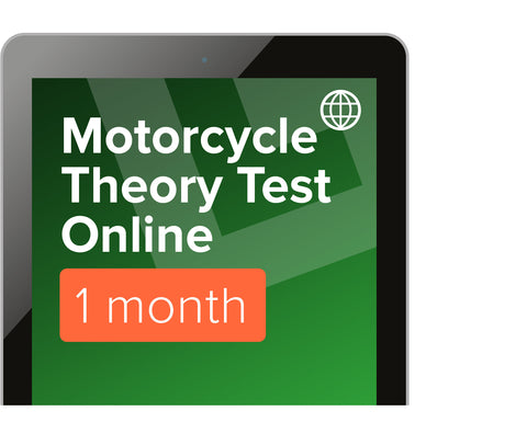 Motorcycle Theory & Hazard Perception Revision - Online