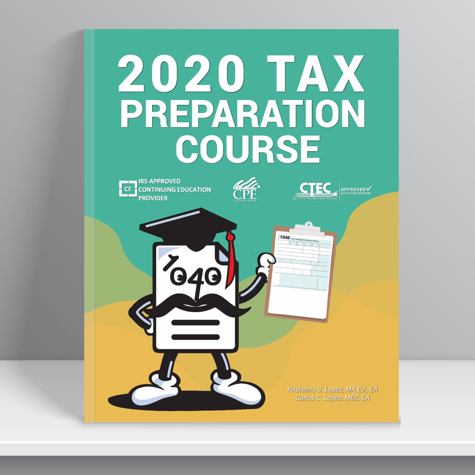 Tax Preparation Course eBook