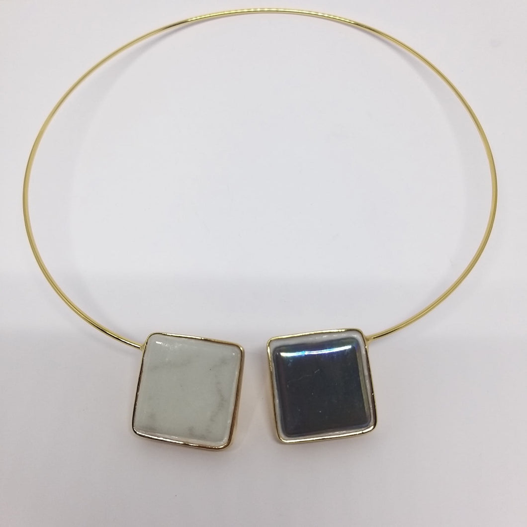 Collar DUO Gres'Art