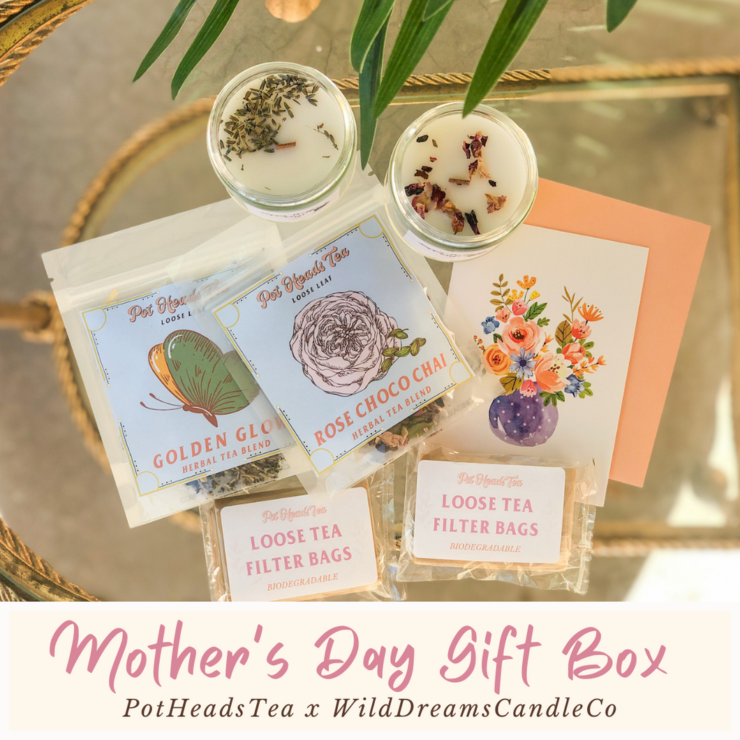Mother's Day Gift Set - Candle & Tea