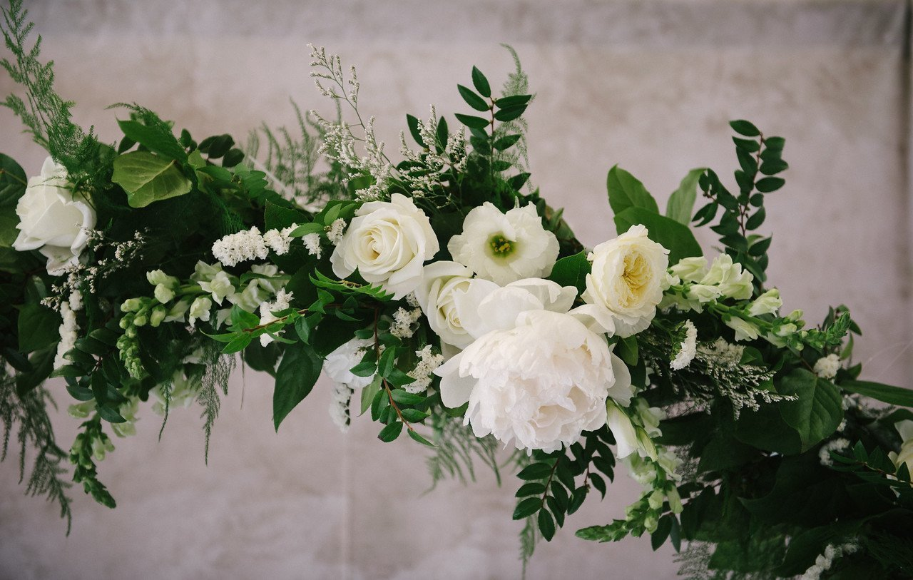 Archway Floral Clusters