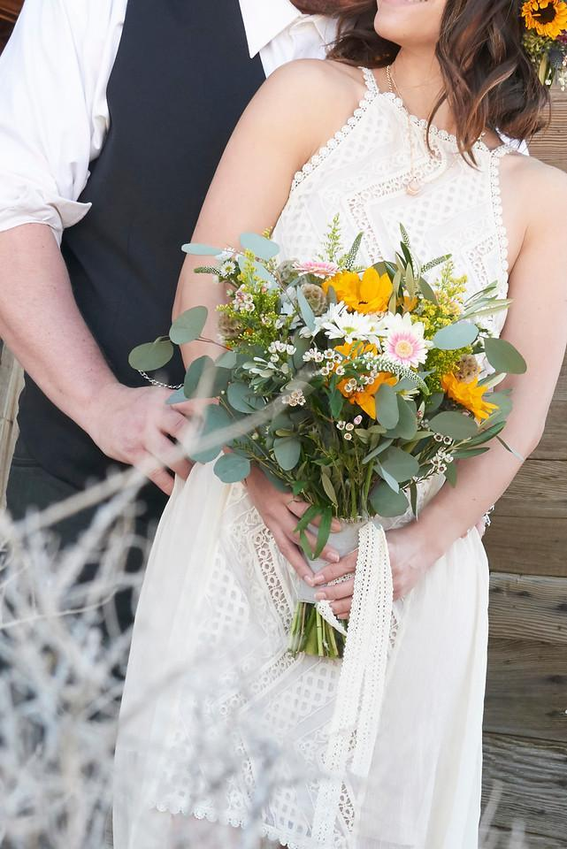Bridal Bouquet Country Wild
