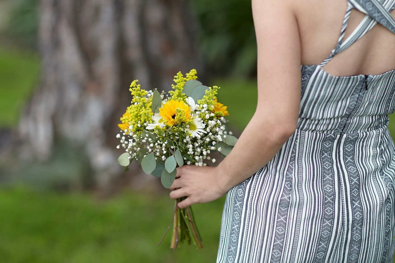 Bridesmaid Bouquet Country Wild