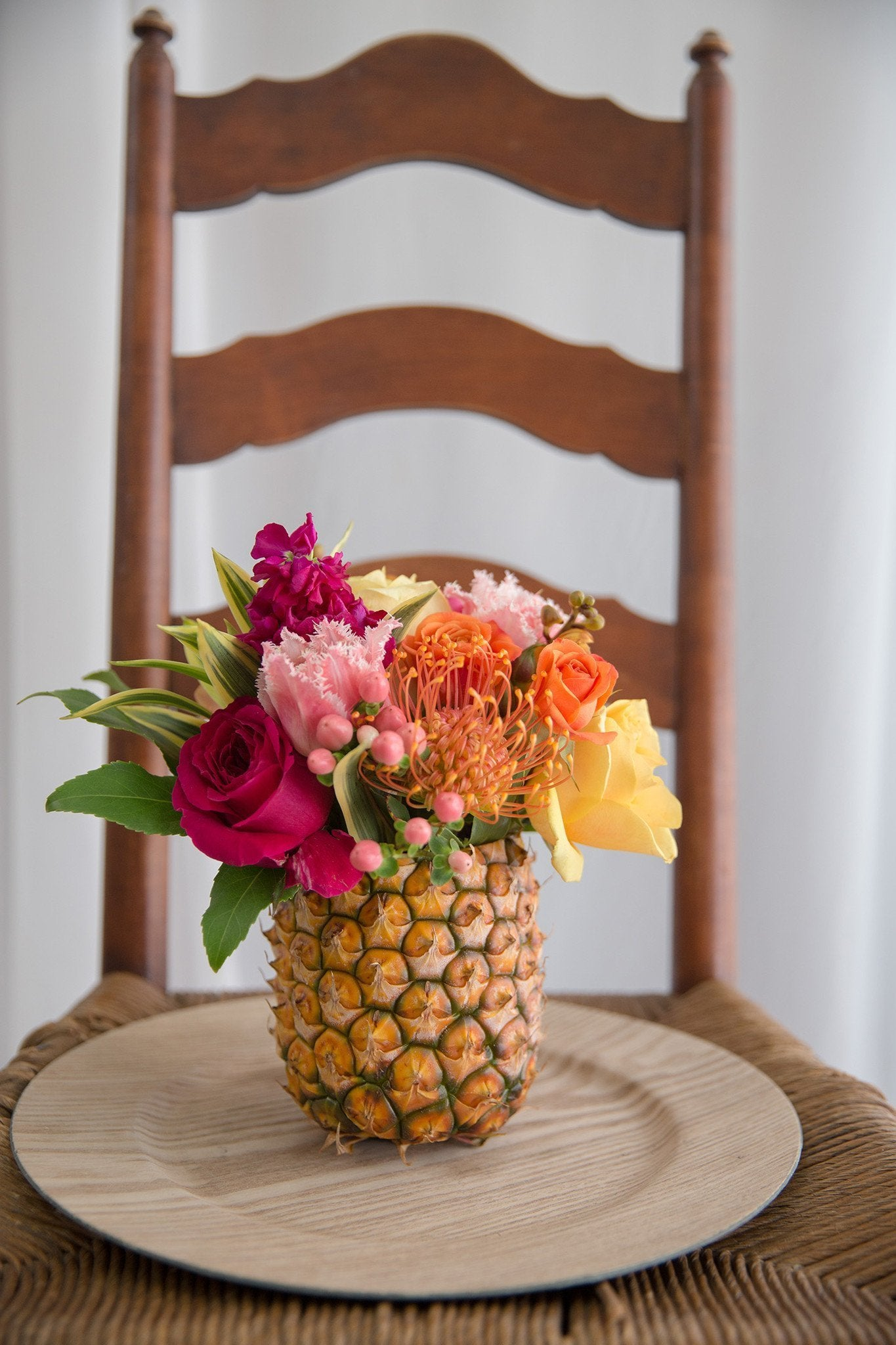 Pineapple Party Centerpiece
