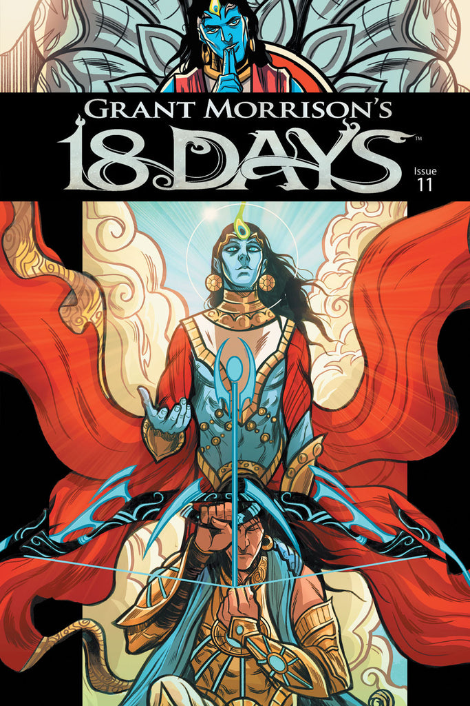 Grant Morrison's 18 Days #11  Cover A - Jeevan Kang