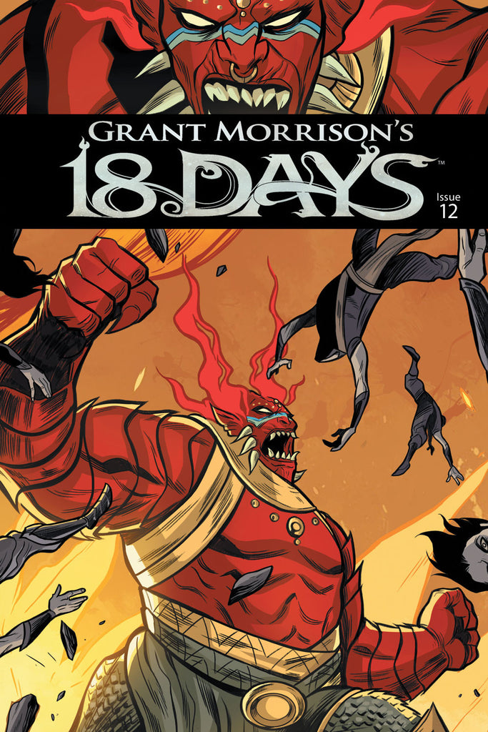 Grant Morrison's 18 Days #12 Cover A - Jeevan Kang