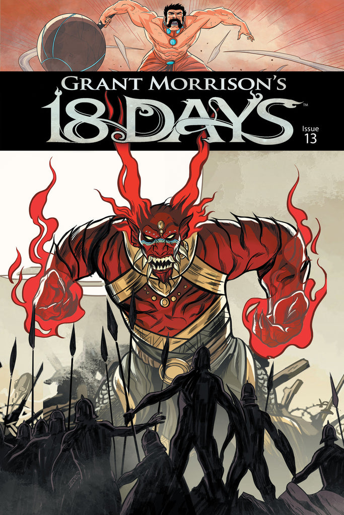 Grant Morrison's 18 Days #13 Cover A - Jeevan Kang