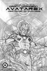 Grant Morrison's Avatarex - Destroyer of Darkness #1 Limited Edition Pencil Sketch Variant Cover (Adam C. Moore)