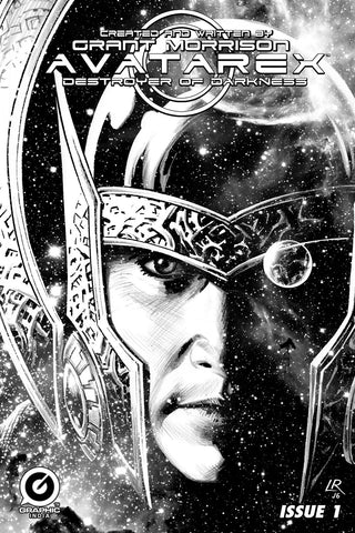 Grant Morrison's Avatarex - Destroyer of Darkness #1 Limited Edition Pencil Sketch Cover (Luke Ross)